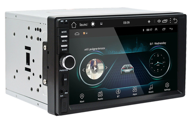 Traxter C451 2DIN Android 9.0 -autosoitin/navi/3G/WiFi